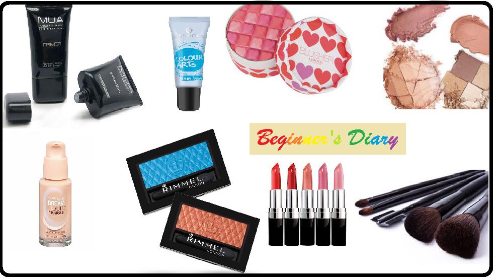Beginner's Diary – Vol 1 ( Basics Tools & Cosmetics)