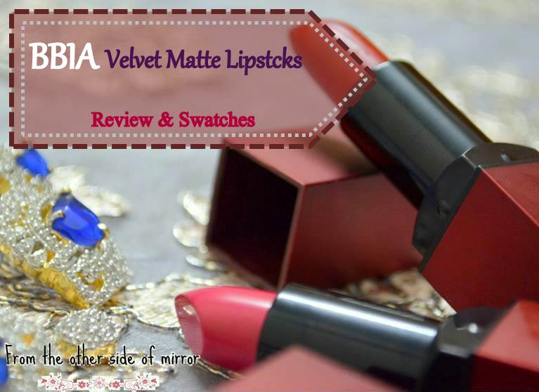 Lips as smooth as a velvet dream with Bbia Lipsticks-Review & Swatches