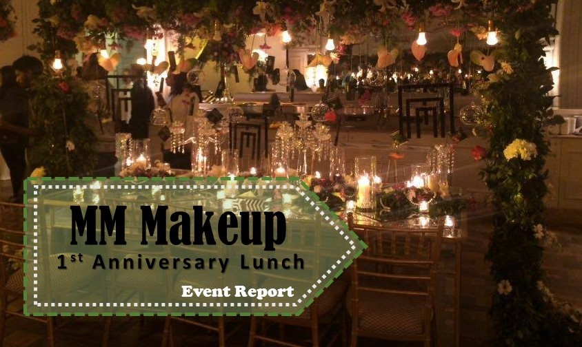 Marking a Mile stone , MM Makeup Turns ONE !! – Event Report