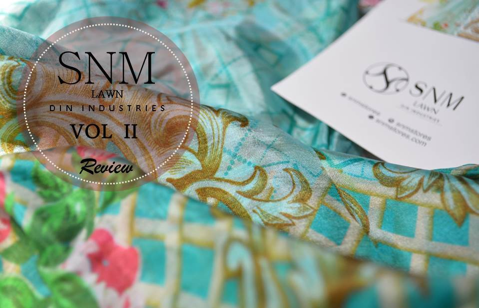 Pretty, neat and economical – SNM Lawn by Din Industries Volume 2 : Review