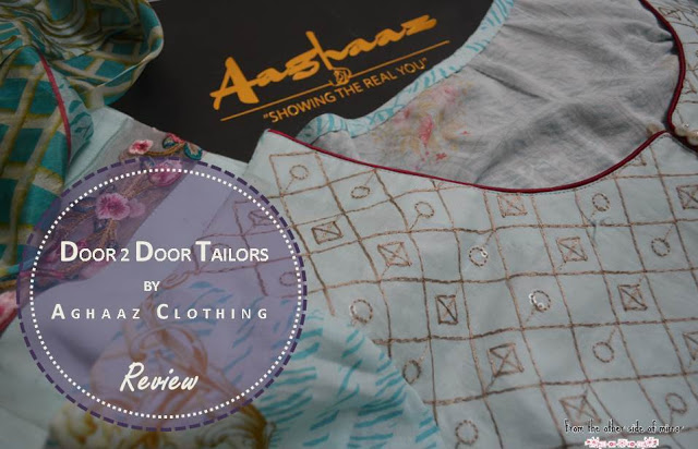 Fine Tailoring comes home with Door to Door Tailors by Aghaz clothing- Review