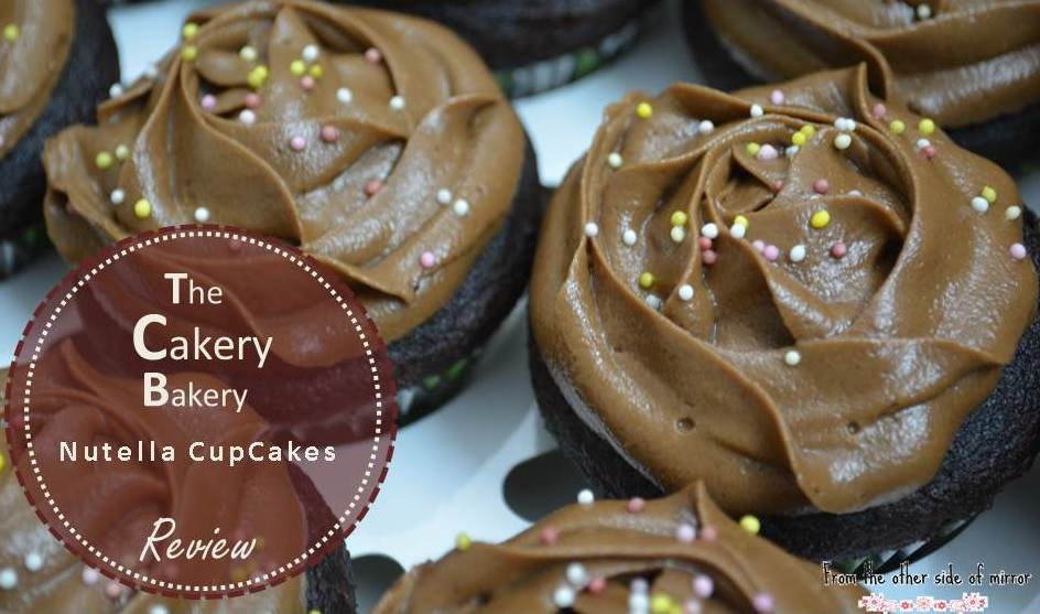 Because chocolate goes to Heart -Nutella Cupcakes by The Cakery Bakery, Lahore