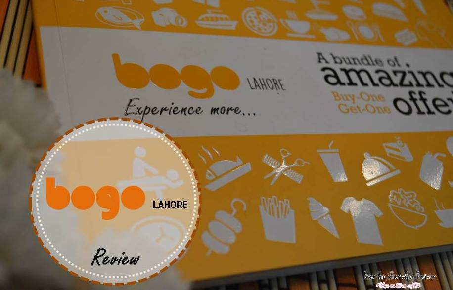 BOGO- A Voucher Book Every Foodie from Lahore should have !