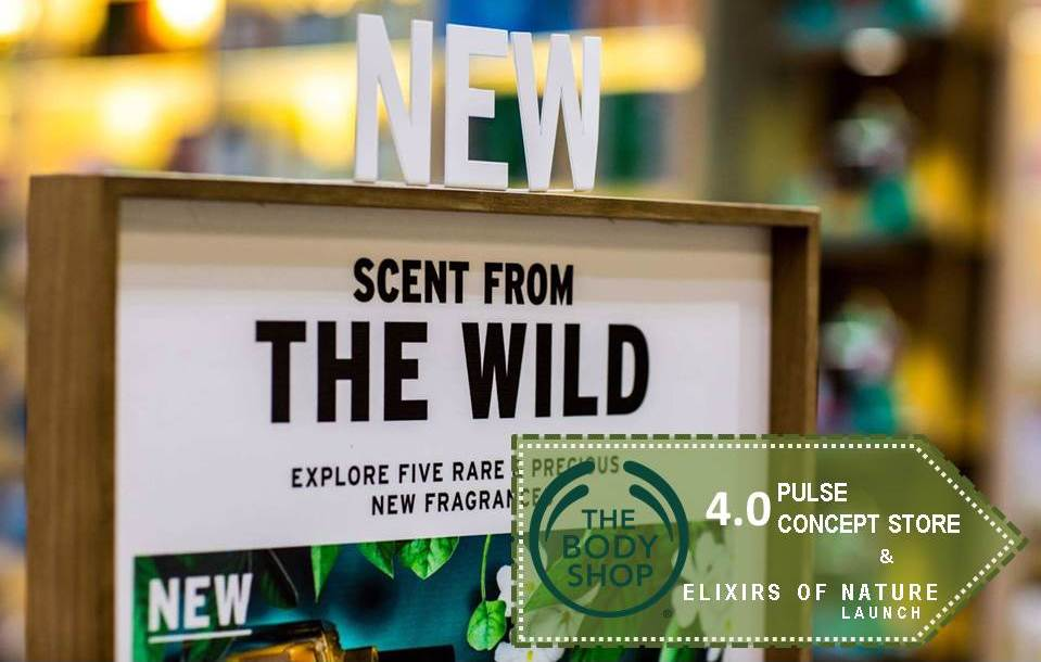 """Night of """"FIRST OF ITS KIND""""- The Body Shop 4.0 Pulse Store Opening & Elixirs Of Nature Launch"""