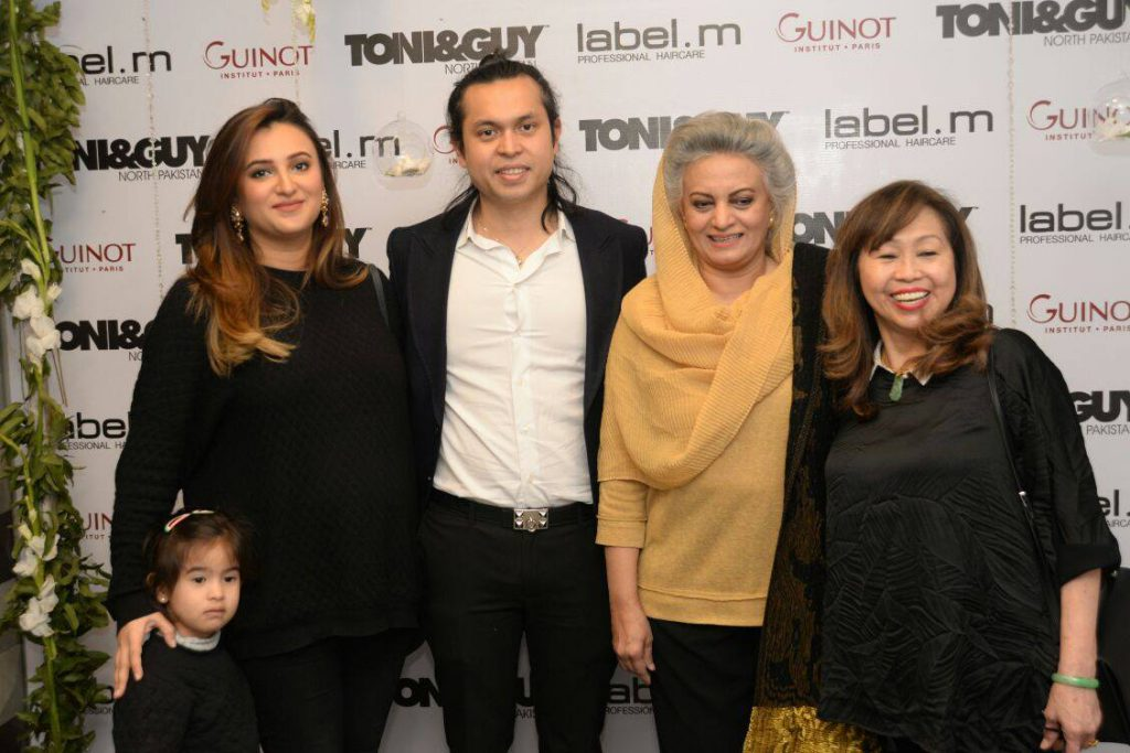 """""""One step at a time"""" Toni & Guy, North Pakistan Opens Doors in Johar Town, Lahore [Event Report]"""