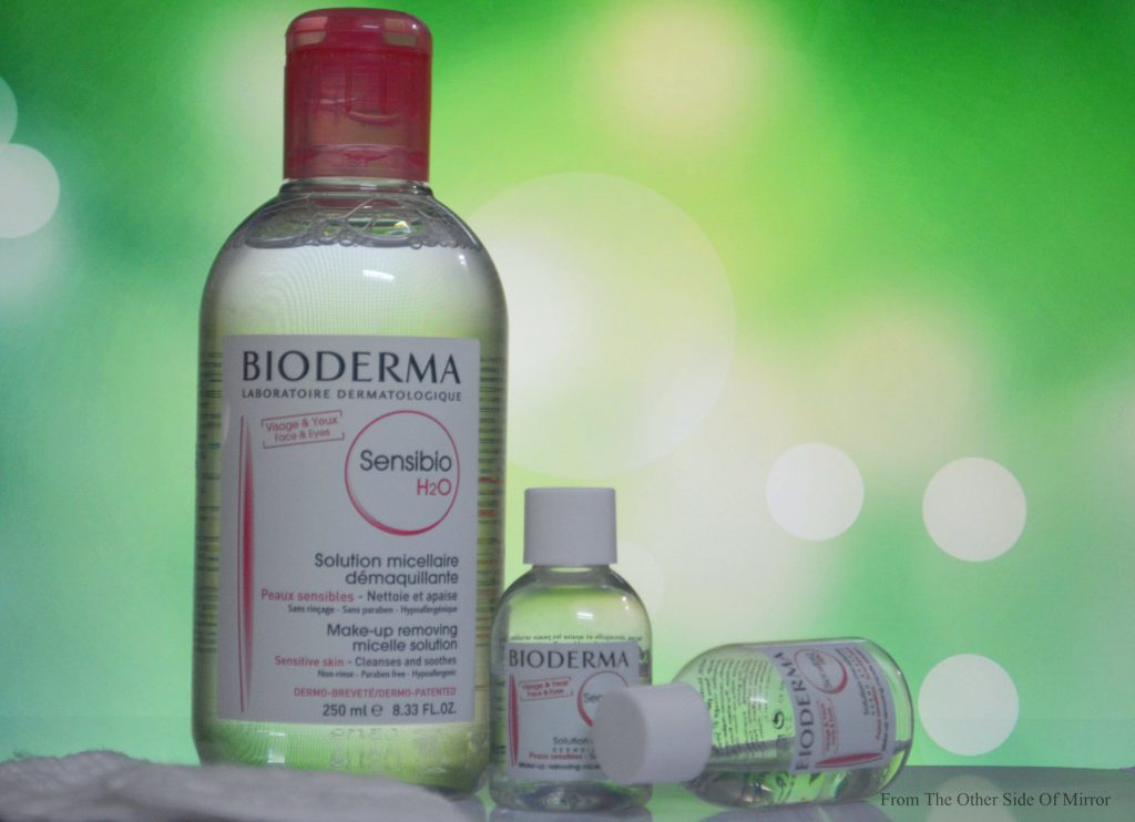 Taking OFF Makeup made easy with Bioderma Sensibio H2O Solution Micellaire -Review