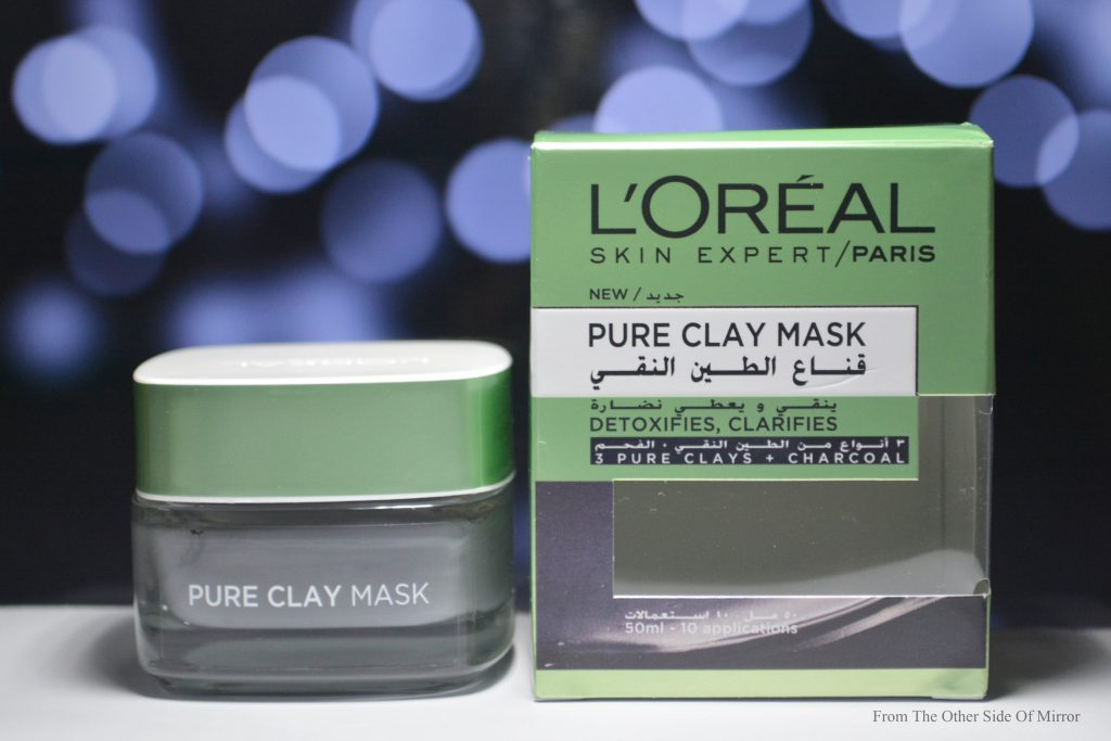 Skin Detox ? Yes Please with L'Oreal Paris Pure Clay  Detox & Brighten Treatment Mask