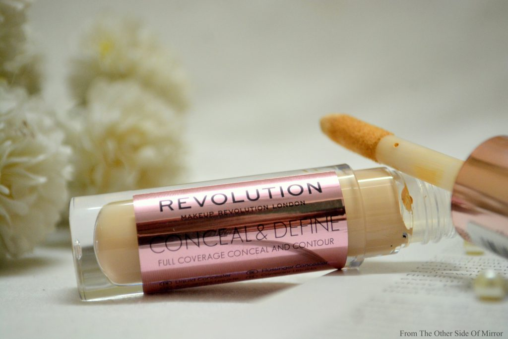 Cover, Conceal and Contour it all with Makeup Revolution Conceal and Define Concealer – Review