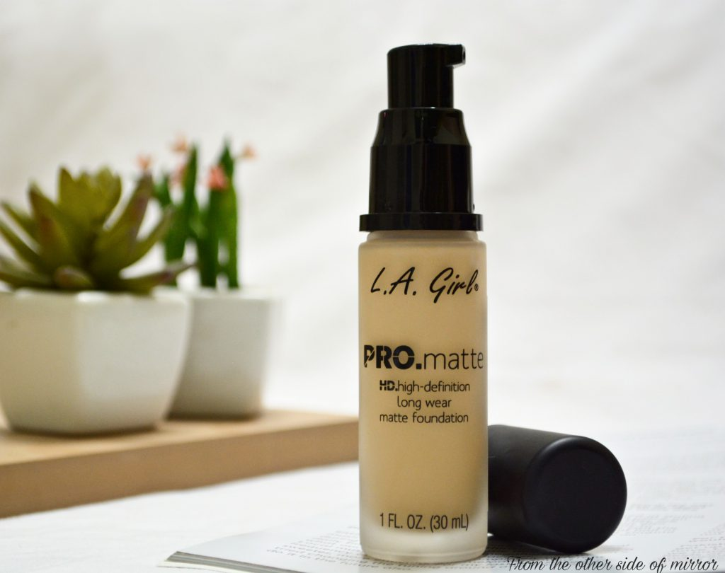 Flawless smooth coverage with L.A. GIRL PRO Matte HD Long Wear Matte Foundation – Review