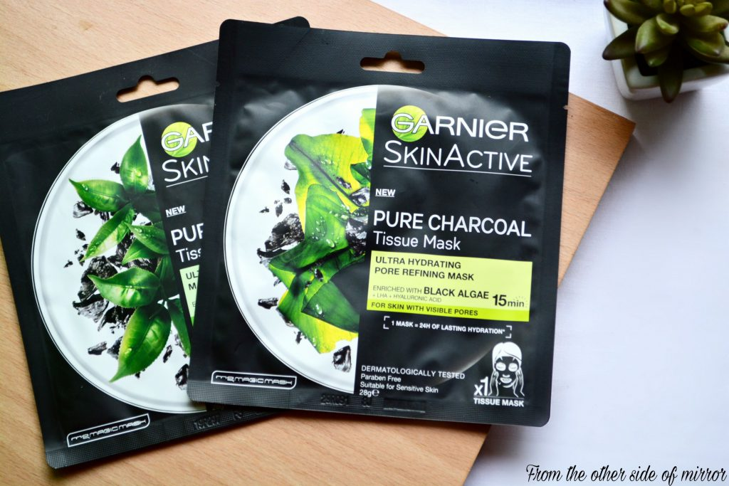 Charcoal power in a Pack —Garnier Pure Charcoal Tissue Mask (Review)