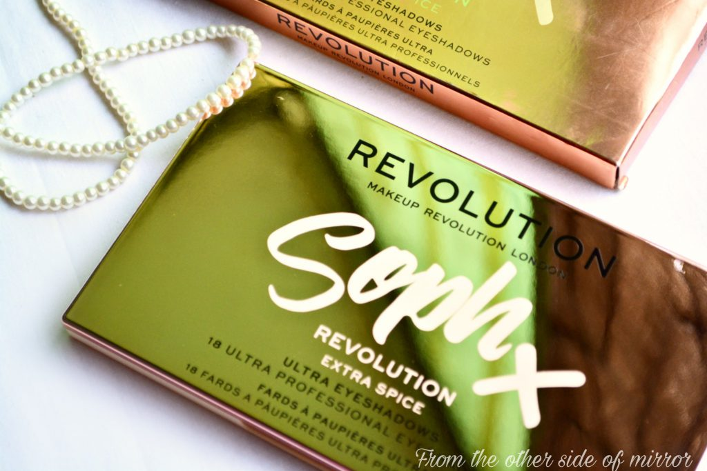 Makeup Revolution x SophX Extra Spice Palette –  Review & Swatches