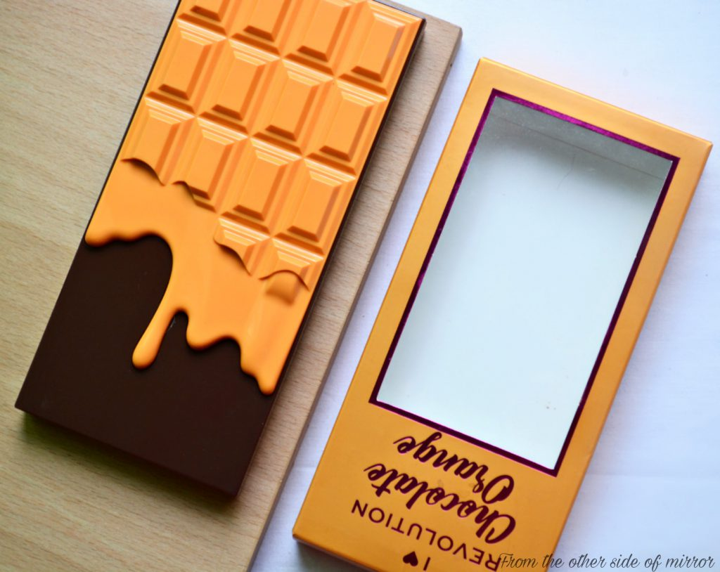 I Heart Revolution Chocolate Orange Pallete – Never a Bad Idea Together ! (Review)