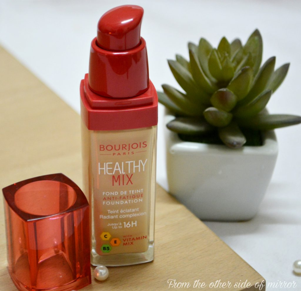 Bourjious Healthy Mix Anti Fatigue Foundation – A healthy light weight treat for your skin (Review)