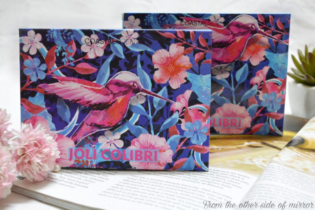 Coastal Scents Joli Colibri Eyeshadow Pallete – Review & Swatches