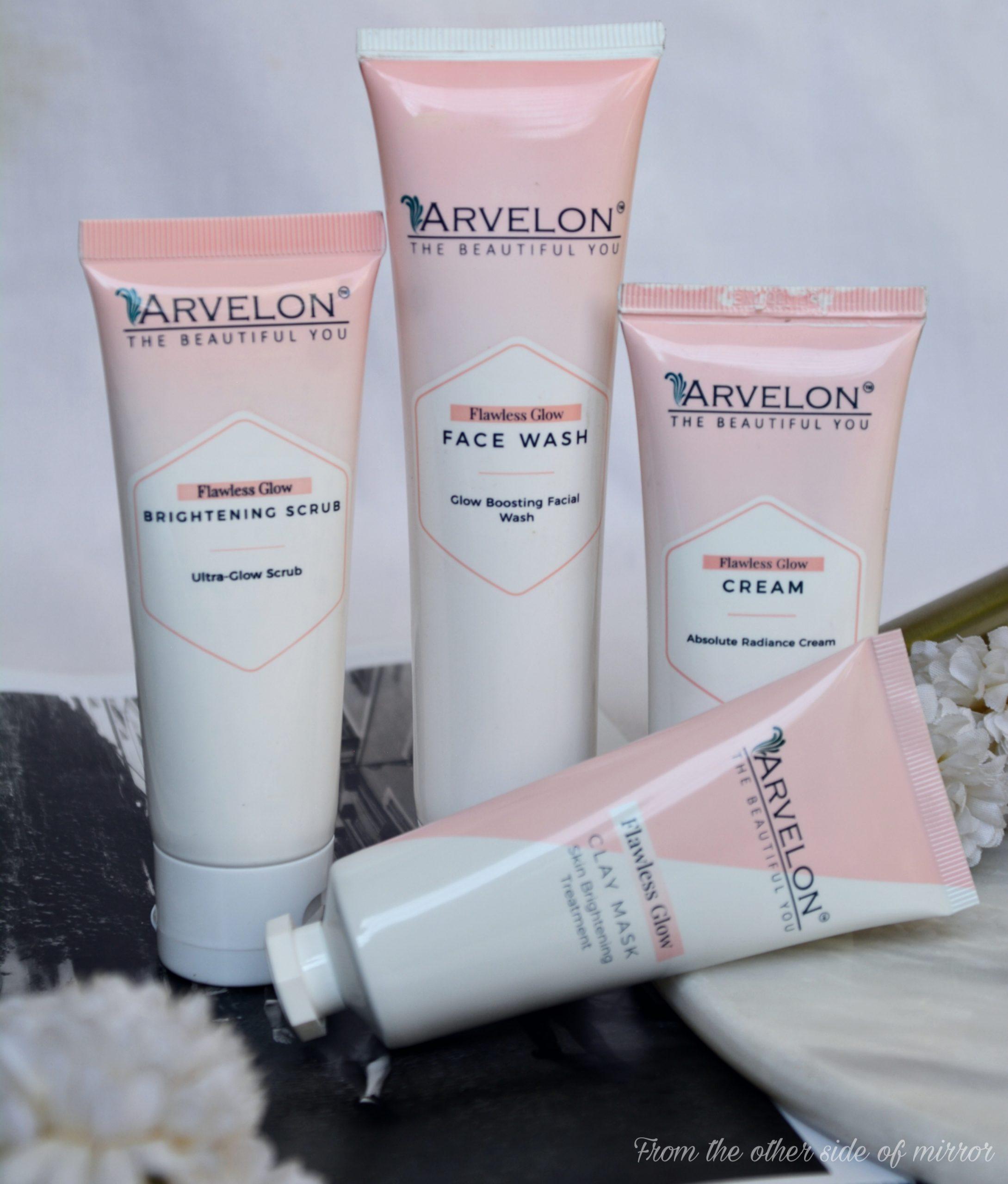 Arvelon Flawless glow range reviewow